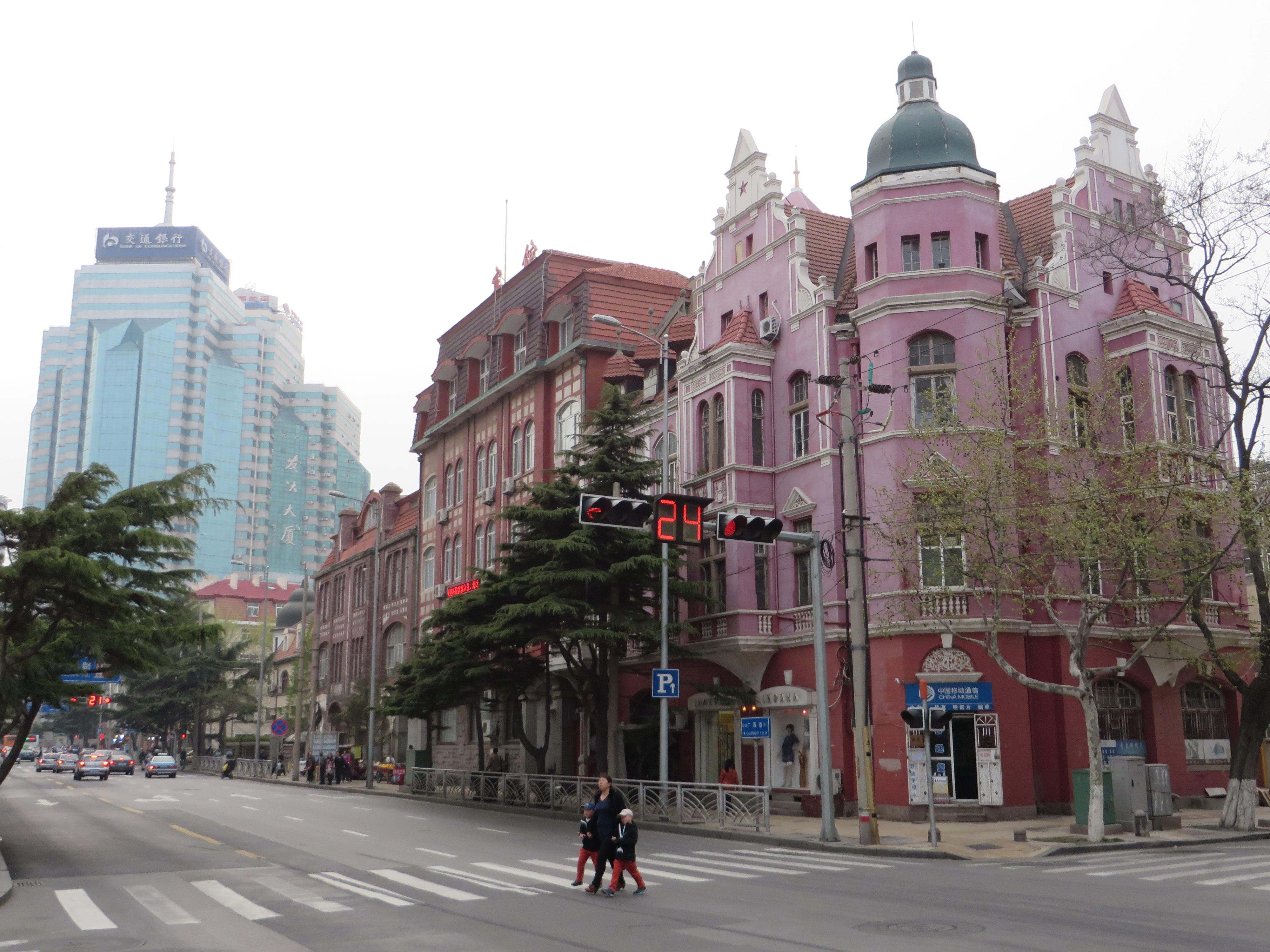 Zeit in Qingdao gerade jetzt